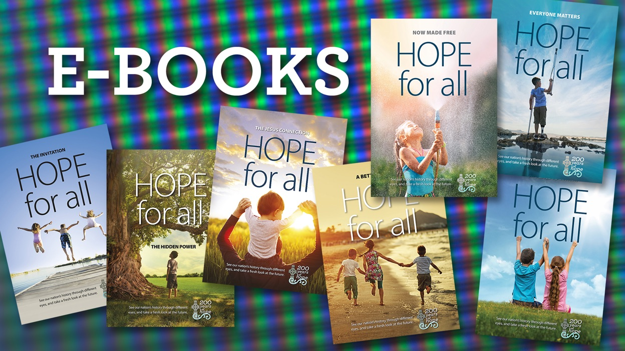 Hope Project - Hope for All - eBook covers
