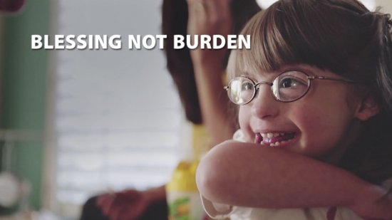 BLESSED NOT A BURDEN.