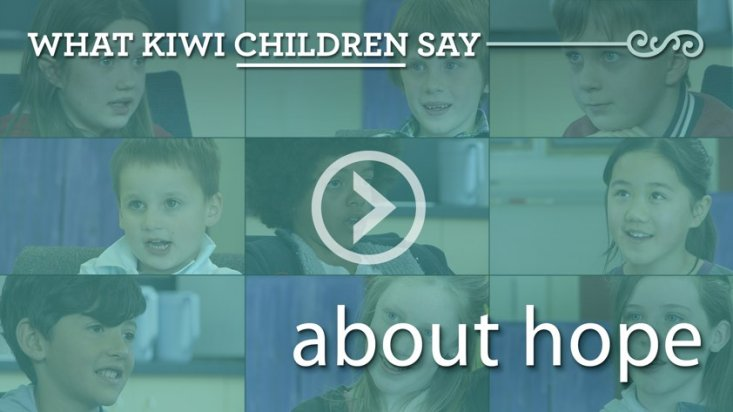 What Kiwi children say about hope
