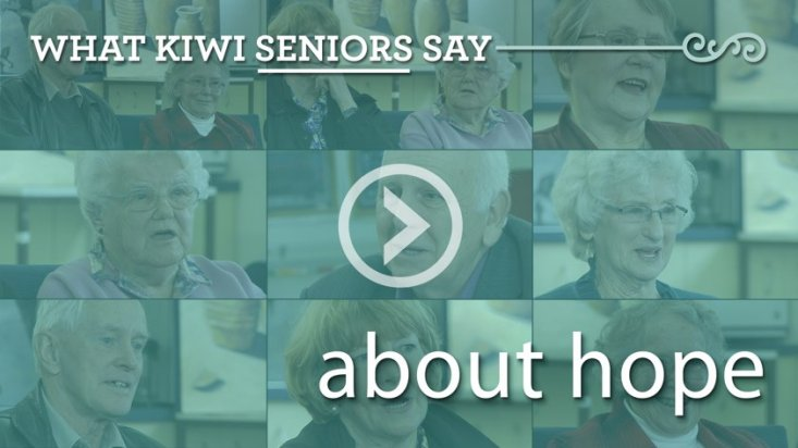 What Kiwi seniors say about hope
