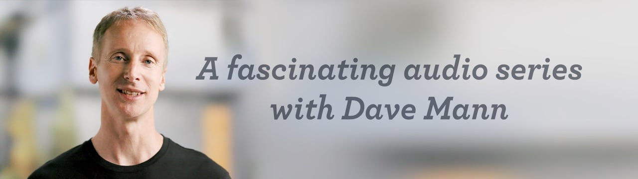 A fascinating audio series with Dave Mann